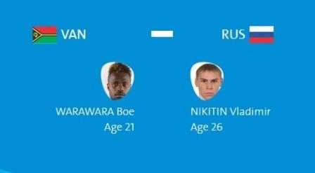 Абдурашидов, Замковой, Хамуков и Никитин выйдут на ринг первыми (4)