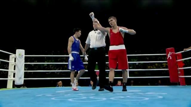 Олимпиада в Рио: Виталий Дунайцев победил и вышел четвертьфинал (1)