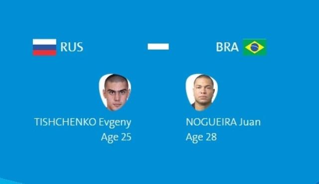 Олимпиада в Рио: Евгений Тищенко – Хуан Ногейра