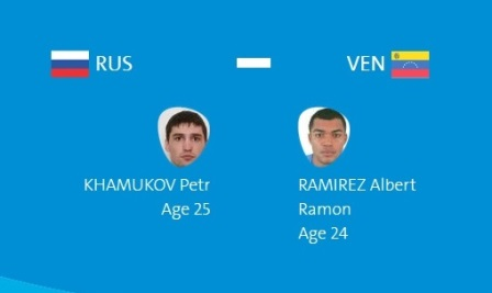 Абдурашидов, Замковой, Хамуков и Никитин выйдут на ринг первыми (3)