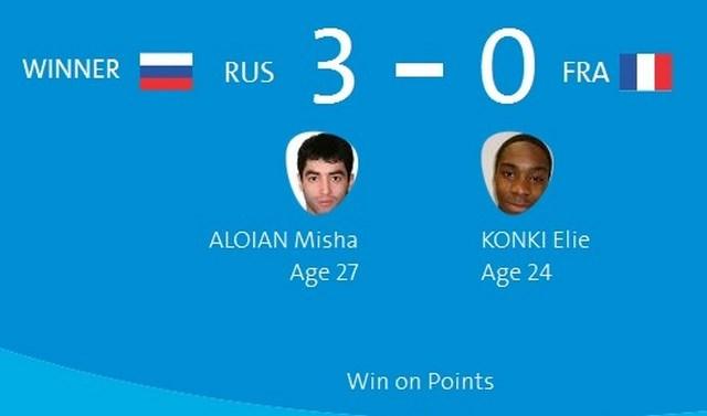 Олимпиада в Рио: Миша Алоян вышел в четвертьфинал (1)