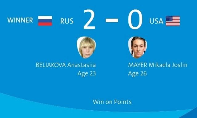 Олимпиада в Рио: Анастасия Белякова вышла в полуфинал! (1)