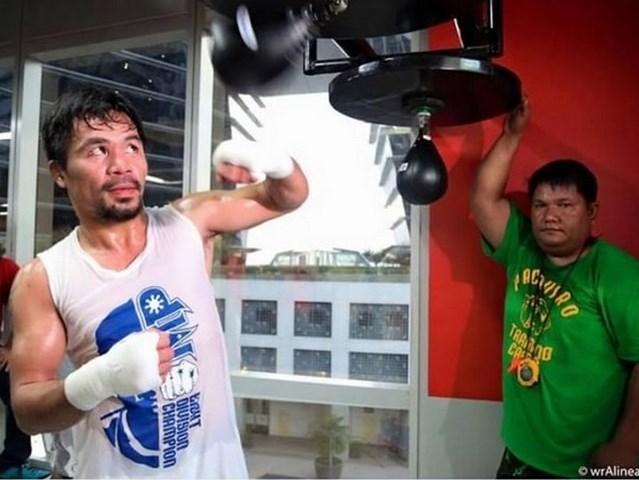 Мэнни Пакьяо начал подготовку к бою с Джесси Варгасом (1)