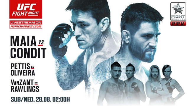 Прямая трансляция UFC on Fox 21: Карлос Кондит - Демиан Майя (1)