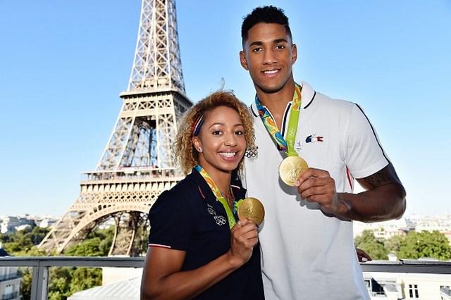 Золотая олимпийская свадьба: Тони Йока и Эстель Моссели (1)