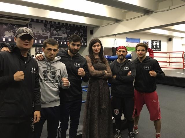 Аза Савлаева и клуб Боевые перчатки