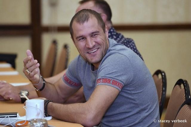Сергей Ковалев и Андре Уорд встретились с журналистами (2)