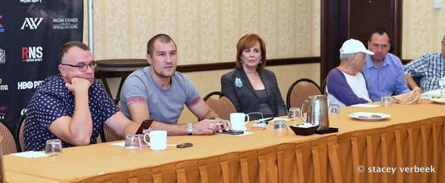 Сергей Ковалев и Андре Уорд встретились с журналистами (1)