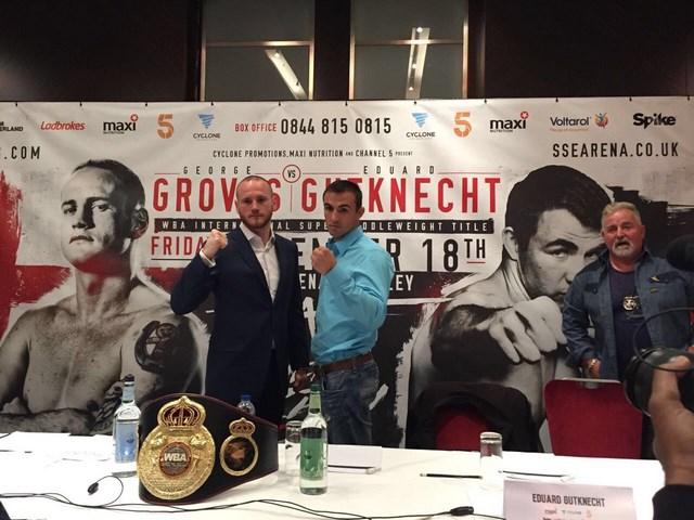 Эдуард Гуткнехт попытается забрать у Джорджа Гровза пояс WBA International  (1)