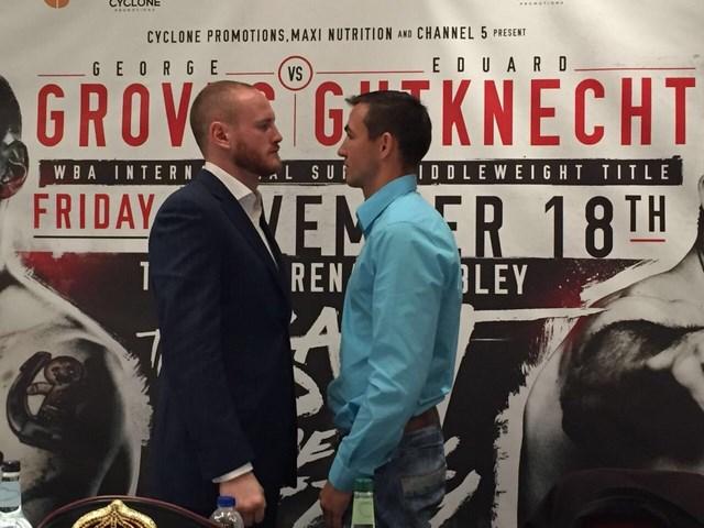 Эдуард Гуткнехт попытается забрать у Джорджа Гровза пояс WBA International  (2)
