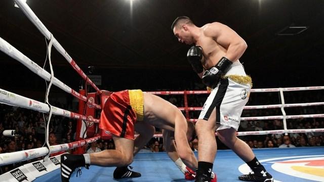 Джозеф Паркер нокаутировал Александра Димитренко в третьем раунде (1)