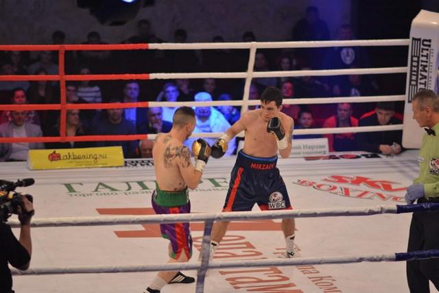 Вячеслав Мирзаев завоевал титул чемпиона WBC International Silver (1)