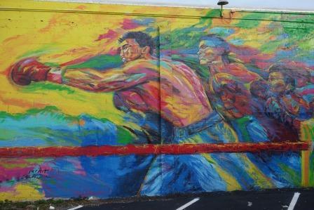 Джейс МакТир - художник, влюбленный в бокс (1)