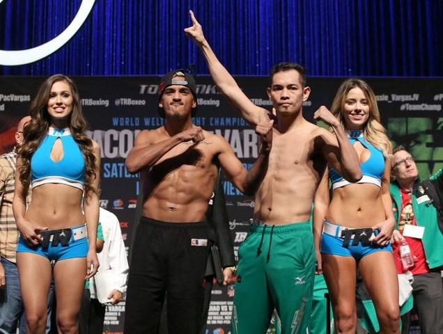 Мэнни Пакьяо и Джесси Варгас сделали вес (3)
