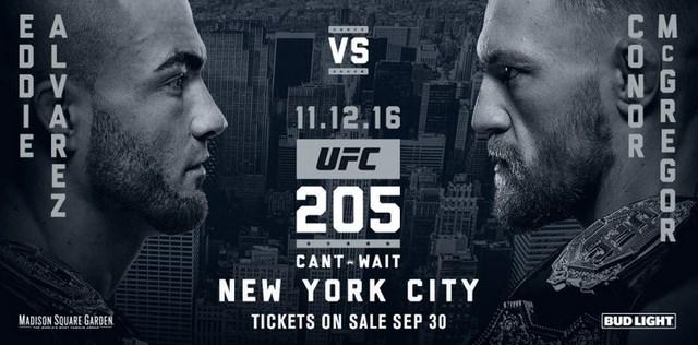 Прямая трансляция UFC 205: Конор МакГрегор - Эдди Альварес, Хабиб Нурмагомедов - Майкл Джонсон  (1)