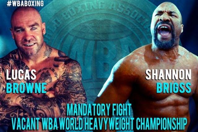 Шеннон Бриггс и Лукас Браун сразятся за титул чемпиона Мира по версии WBA (1)