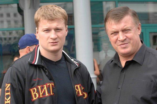 Александр Поветкин и Владимир Поветкин