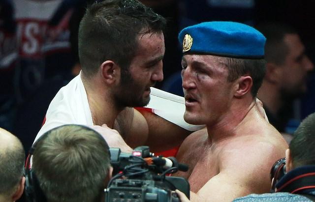 Денис Лебедев и Мурат Гассиев: слова после боя (1)