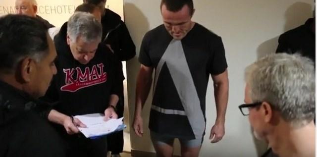 Повторное взвешивание: Денис Лебедев – Мурат Гассиев (1)