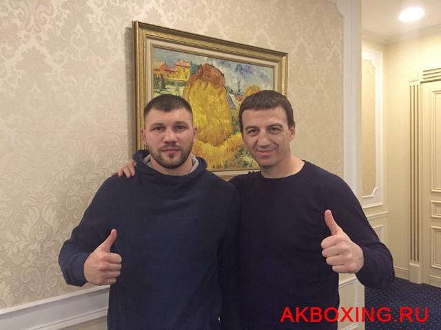 Евгений Романов и Александр Колесников