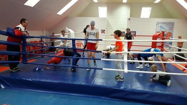 Бокс в Пушкине