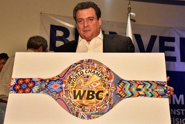 Индейский пояс WBC (3)