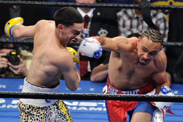 Кит Турман отобрал титул чемпиона Мира WBC у Дэнни Гарсии (1)