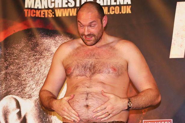 Тайсон Фьюри растолстел до 158 кг (1)