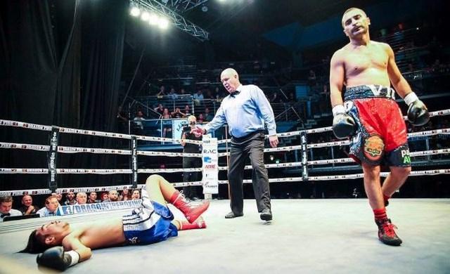 Вик Дарчинян победил нокаутом в первом раунде и нацелился на Градовича (1)