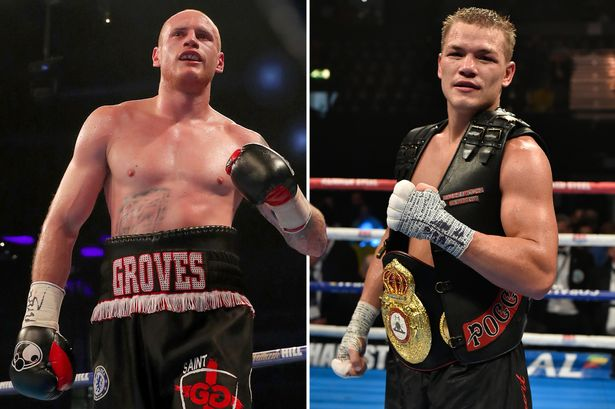 George Groves - Fedor Chudinov