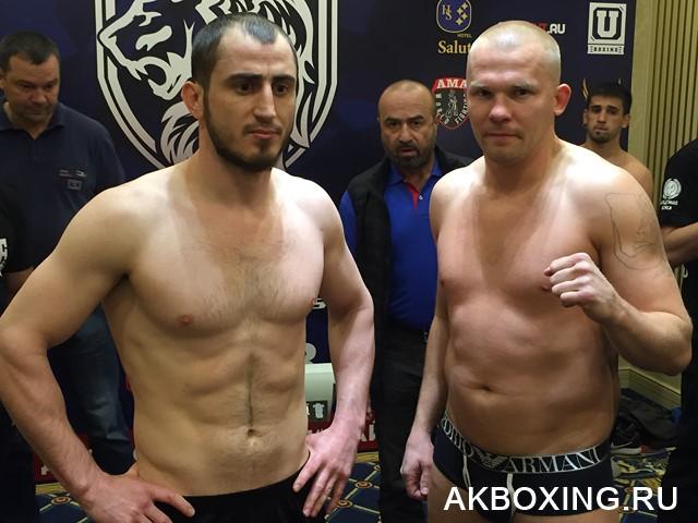 Саламбек Байсангуров победил по очкам Константина Питернова (1)