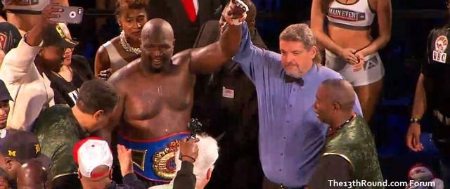 Джеймс Тони завоевал пояс чемпиона Мира WBF в супертяжелом весе (1)