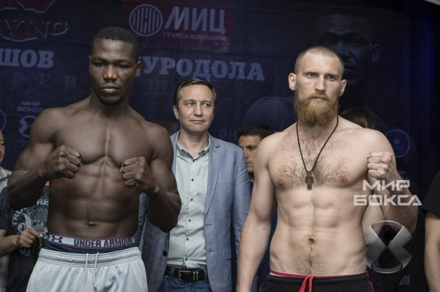 Дмитрий Кудряшов и Оланреваджу Дуродола сделали вес (1)