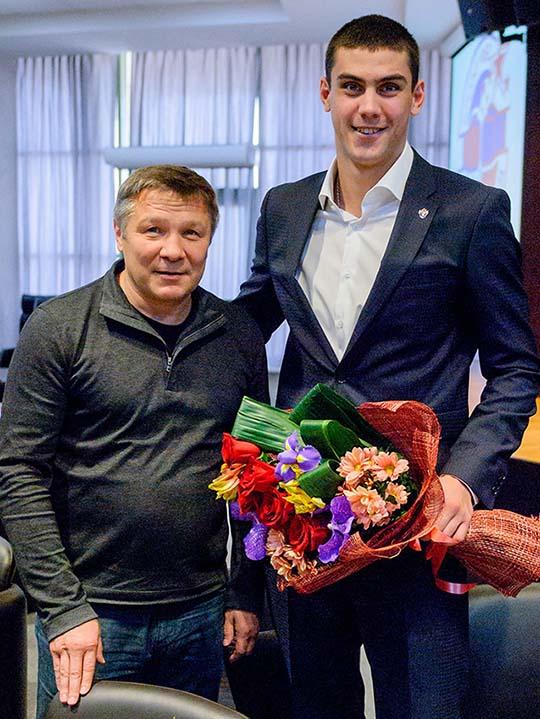 Олег Меньшиков и Евгений Тищенко