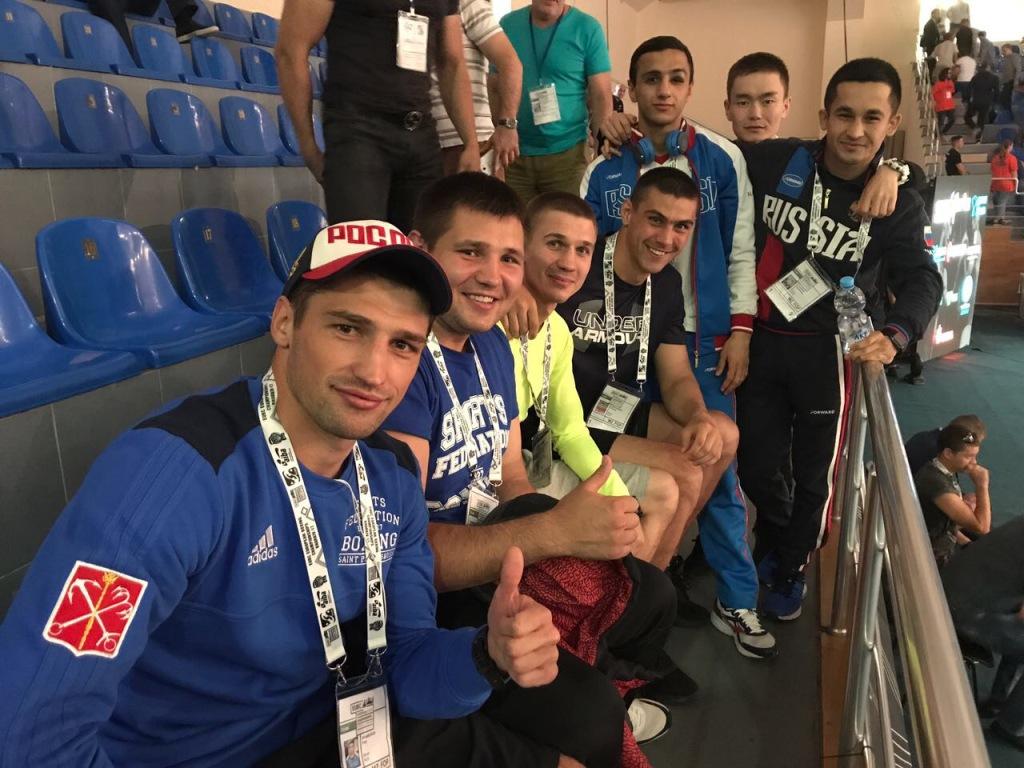 сборная России по боксу