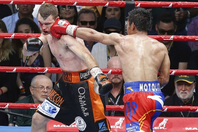 Manny Pacquiao,Jeff Horn