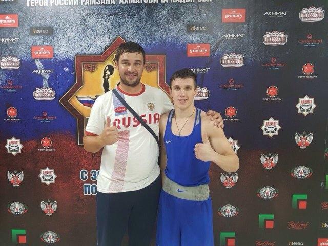 Боксёр изИркутской области Василий Зверян стал бронзовым призёром чемпионата Российской Федерации