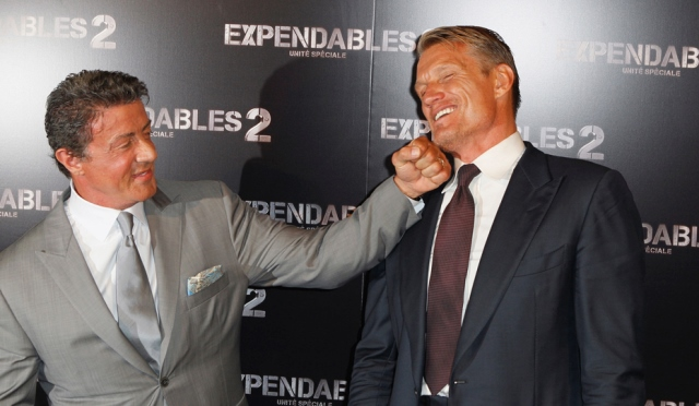France Expendables 2