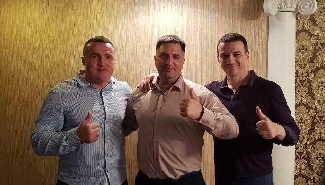 Денис Лебедев, Павел Попов, Александр Колесников