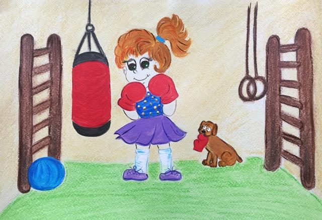 Девочка_бокс