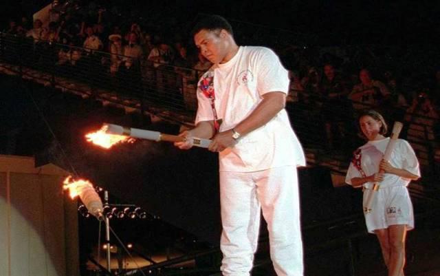 Бокс на Олимпийских играх.