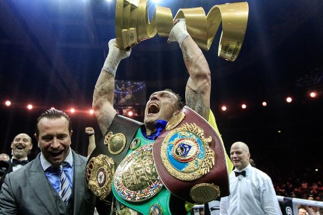 Александр Усик не смог назвать имя будущего победителя турнира Али.