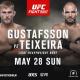 Прямая трансляция UFC Fight Night 109: Александр Густафссон – Гловер Тейшейра